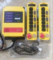 1pcs 2 Transmitters 8 Channels Hoist Crane Radio Remote Control System 12V Free Shipping