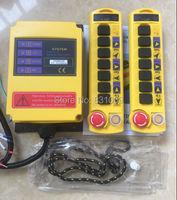 1pcs 2 Transmitters 8 Channels 12V Hoist Crane Radio Remote Control System Brand New