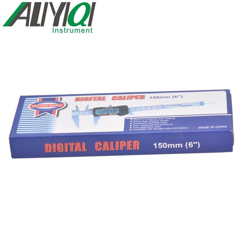 ALIYQI SK-200 0-200 мм экономичный цифровой штангенциркуль, измерительные инструменты