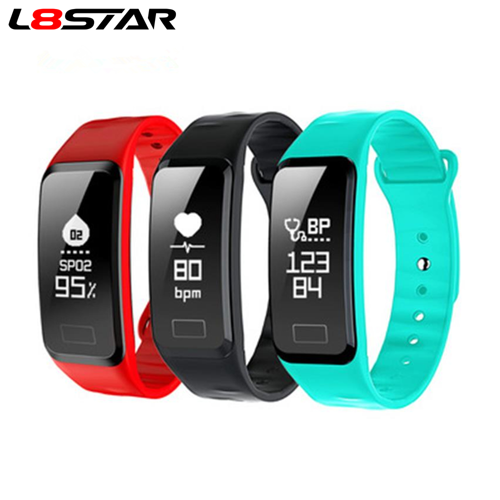 L8star R1 Smart Wristband Heart Rate Band Blood Pressure Activity Tracker Oxygen Pedometer With IOS Android For Sport Fitness