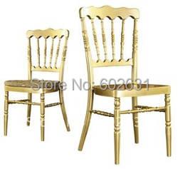 100% прочные алюминиевые стулья для Шато легкий вес