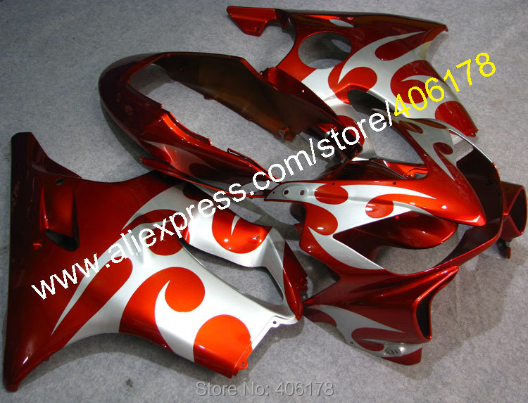 For <font><b>CBR600F4i</b></font> 2004 2005 2006 2007 CBR 600 04 05 06 07 F4i moto <font><b>parts</b></font> Custom fairing kit (Injection molding) image