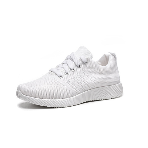 Women Shoes 2019 Flyknit Sneakers Women Super Light Vulcanized Shoes For Basket Femme White Sneakers Fashion Women Casual Shoes Multan
