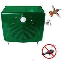 220V Ultrasonic Bird Repeller Pigeon Deterrent  Anti Pest Repellent For Outdoor Garden Yard