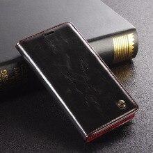 Ретро Натуральная кожа стильные Стиль Флип кожаный чехол для Sony Xperia Z3 мини Z3 компактный M55W крышки мобильного телефона