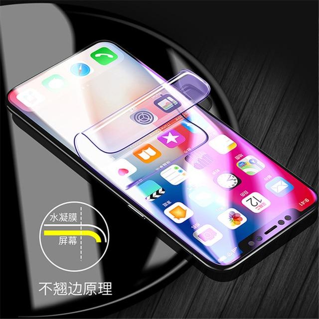 3D de hidrogel de película completa para Huawei Y5 Y9 Y6 primer 2018 P10 P20 Lite Mate 10 Honor 7C 7A Pro 7X9 Lite Protector de pantalla