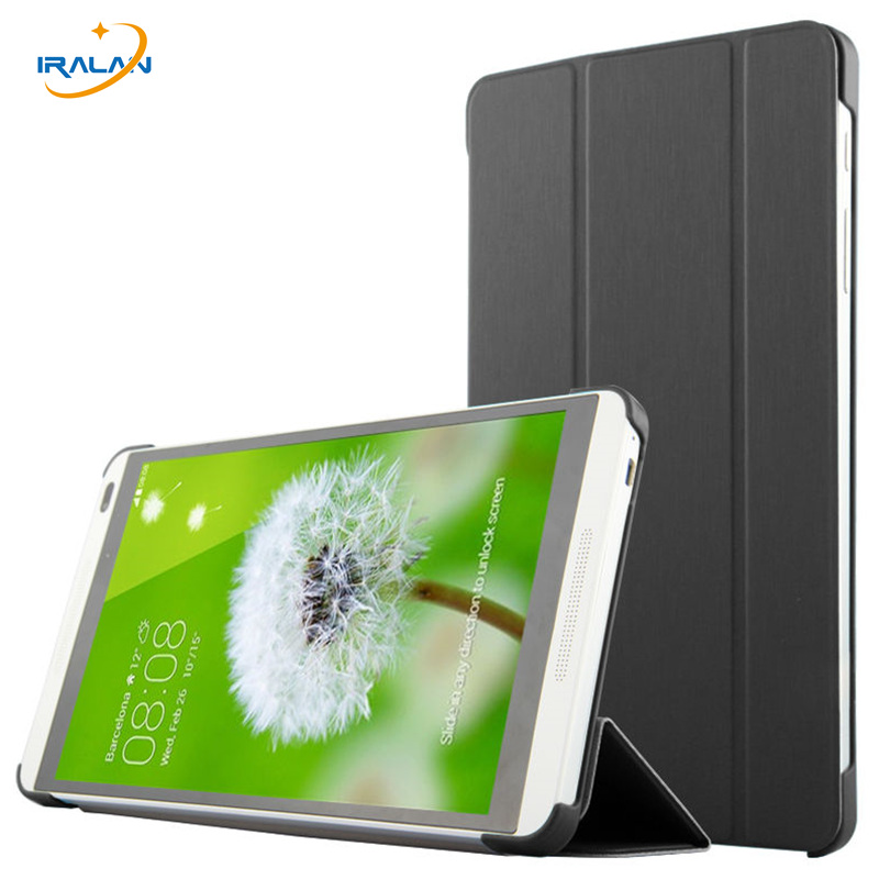 Ultra Slim magnet PU Leather stand case For Huawei MediaPad M1 8.0 S8-301W S8-301U S8-303L tablet Smart cover free shipping+pen ultra slim pu leather cover case with magnet closure for kobo glo 6 ereader