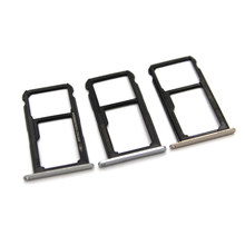 10pcs/lot For Huawei P9 lite New SIM Card Tray Holder With Micro SD Card Tray Slot Holder replacement Part(China)