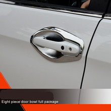 ABS Chrome Door Handle for Honda CRV 2011-2014 Style All Cover, Anti Scratch