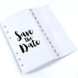 Image 5 - Lovedoki Роскошные фиолетовые тетради и журналы A6 Binder повесток Организатор ежедневный график книга подарок школьные канцелярские принадлежности