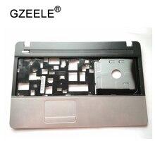 GZEELE Upper case For ACER for Aspire E1-521 E1-531 E1-571 E1-521G E1-571G Palmrest keyboard case C cover shell