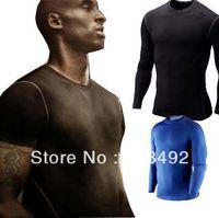 2016 Nowych, Oryginalnych Odzieży Koszula Męska Kompresja Wydajność Bielizna/Fitness Uczucie Chłodu/Szybkie Pranie UV