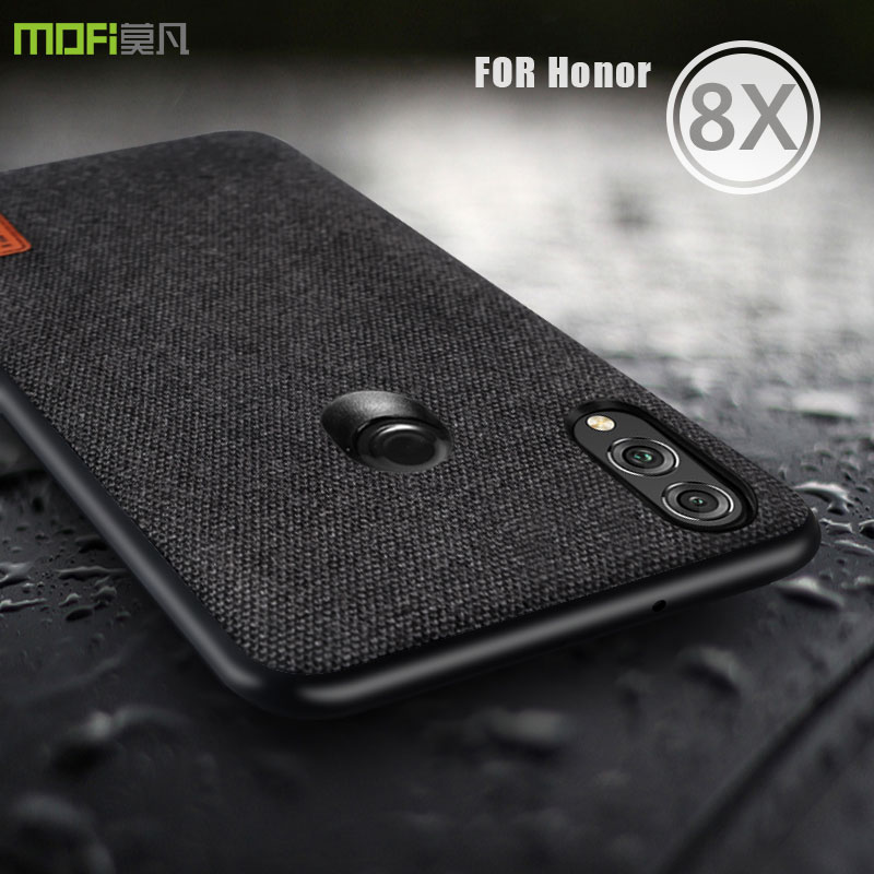 honor 8x max case cover MOFI for huawei honor 8x fabric Case for huawei honor 8X Max Back Soft edge Case 8X full Cover Hard Case