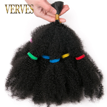 VERVES Culry Crochet Braids Hair Extensions 12 inch, blonde