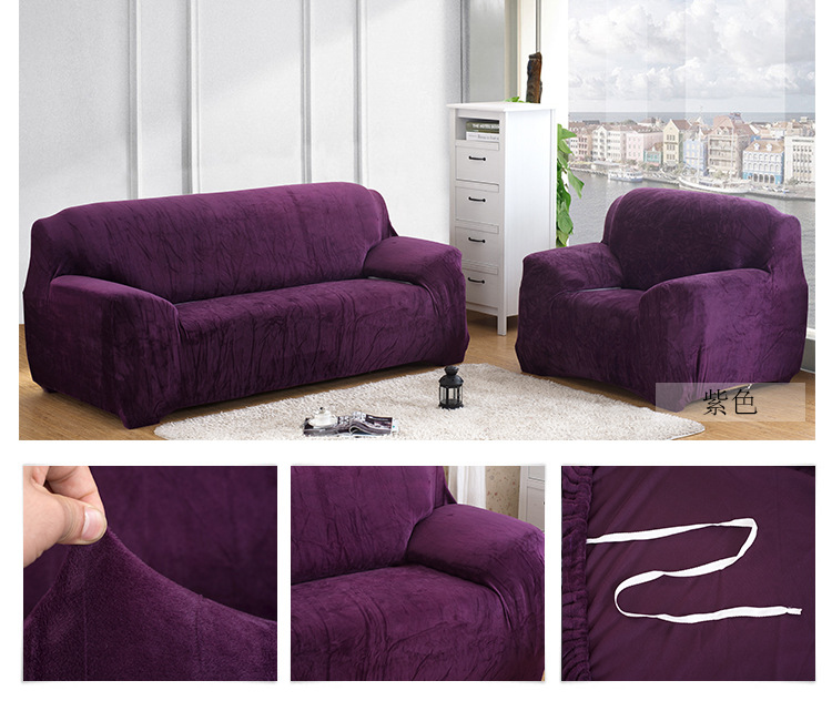 Velvet Sofa Slipcovers Gale Collection Form Fit Velvet