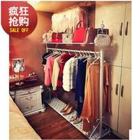 European style floor creative bedroom clothes hang a fashion clothes store display rack
