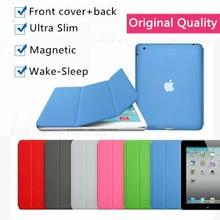 2 in 1 original design protect PU leather magnetic smart case for apple iPad air 2 1 3 Pro 9.7 mini 4 cover case slim flip thin