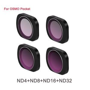 Image 3 - سبائك الألومنيوم المغناطيسي كيس ترشيح مجموعة مختلطة MCUV CPL ND ND PL 3 في 1 و 6 في 1 ل DJI osmo جيب كاميرا تصفية