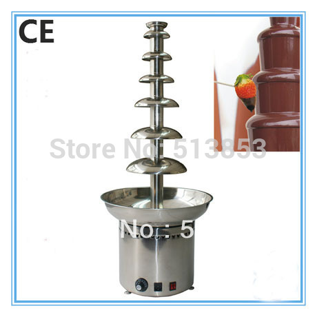 105cm 7 tiers Stainless steel Commercial chocolate fountains for party , wedding spcial events Commercial chocolate fountain стоимость
