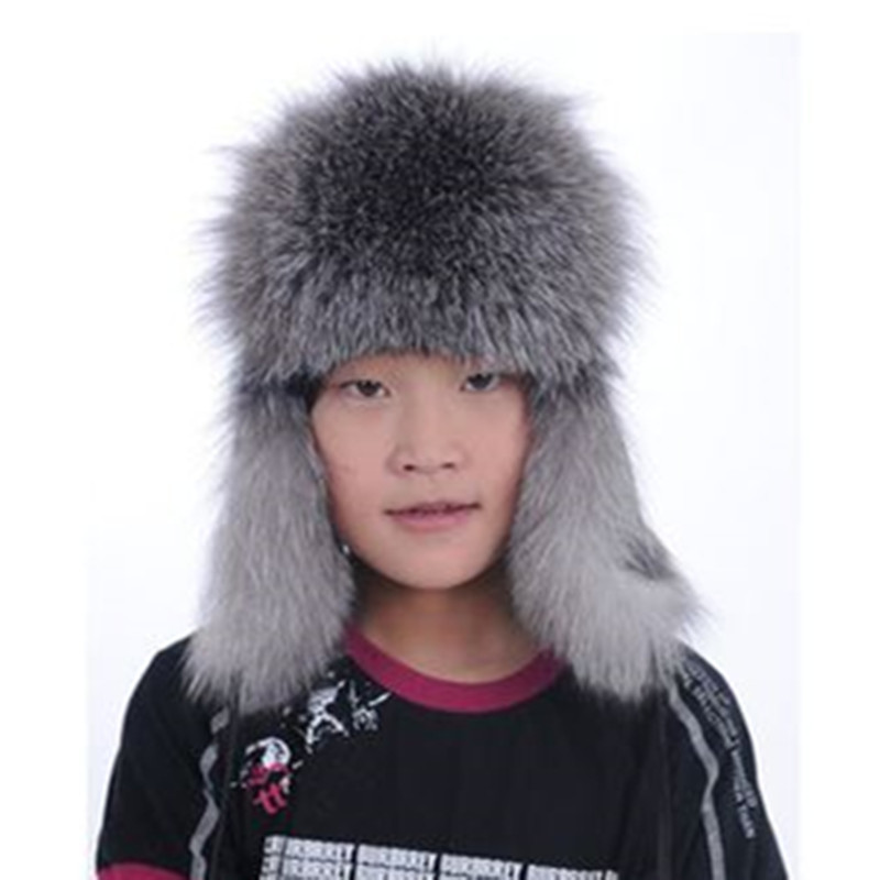 Children fox fur hat to Keep warm in Winter 2016 fur hat fox fur hat  boys and girls generic Free shipping baby handmade warm knit hat boys and girls watermelon seed cap children autumn and winter cute fruit hedge wool hat beanies