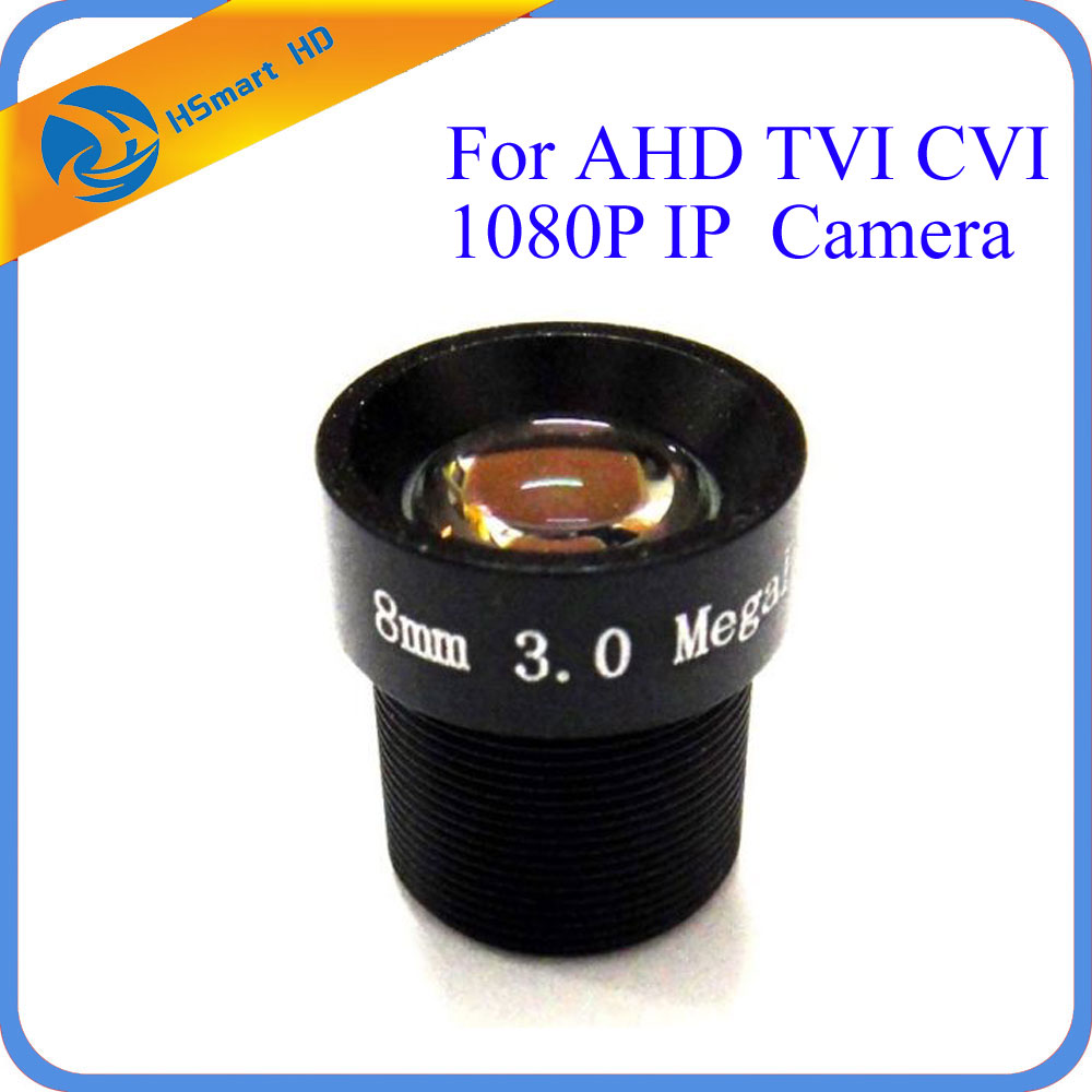 HD 3.0MP 8mm 40 Degree Angle IR Fixed Board CCTV Lens for 1/3