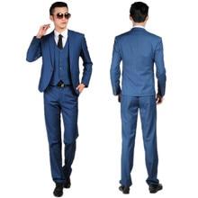 Men's suits, the groom suit elegant custom wedding the groom fashion two-piece custom(coat + pants)