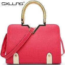 Sxllns New Women's Shoulder Bags Women Messenger Bag Brand Handbags European and American  Fashion Ladies Tote Bag Free Shipping