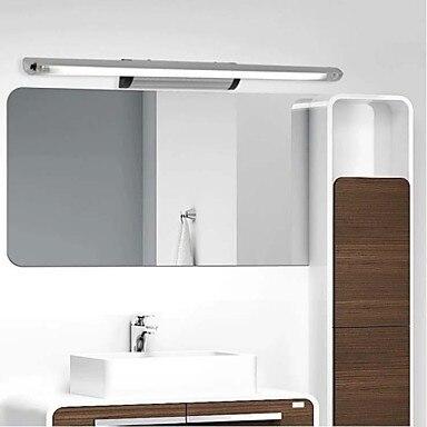 ФОТО 7W 45cm LED Mirror Light Wall Light Modern For Bathroom Livingroom
