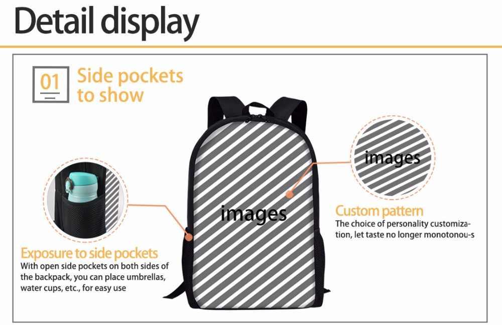 Индивидуальные новый комплект для девочек школьные сумки для детей Чихуахуа Печать плеча рюкзак подростка Kawaii школьный детский школьный рюкзак