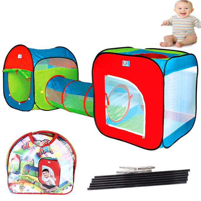 Children Kids Indoor Outdoor Tent Tunnel Hut Crawl Play Toy Gift Baby Toy Play Game House  sc 1 st  AliExpress.com & Children Kids Indoor Outdoor Tent Tunnel Hut Crawl Play Toy Gift ...