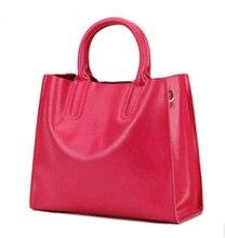 2016 die neue high-end designer leder handtaschen frauen erste schicht Leder handtaschen luxus mode marke J-Bg rosa Umhängetasche