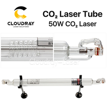 Cloudray Co2 Glaslaserrohr 800 MM 45-50 Watt Glas Laser Lampe für CO2 Lasergravur Schneidemaschine