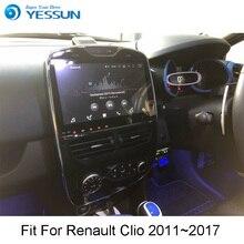 4G ram для Renault Clio 2011~ Android автомобильный навигатор gps HD сенсорный экран Аудио Видео Радио мультимедийный плеер без CD DVD