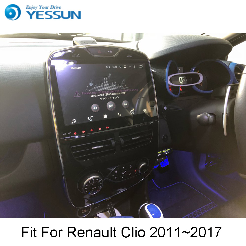 YESSUN For Renault Clio 2011~2017 Android Car Navigation GPS HD Touch Screen Audio Video Radio Multimedia Player No CD DVD. yessun android car navigation gps for hyundai santa fe 2006 2012 audio video hd touch screen stereo multimedia player no cd dvd