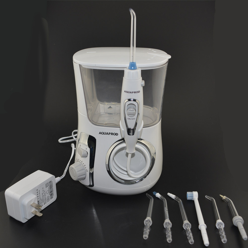 Hydropulseur dents À Ultrasons cleaner eau floss Nettoyage des dents 600 ml réservoir d'eau Brosse À Dents cure-dent hydropulseur dentaire