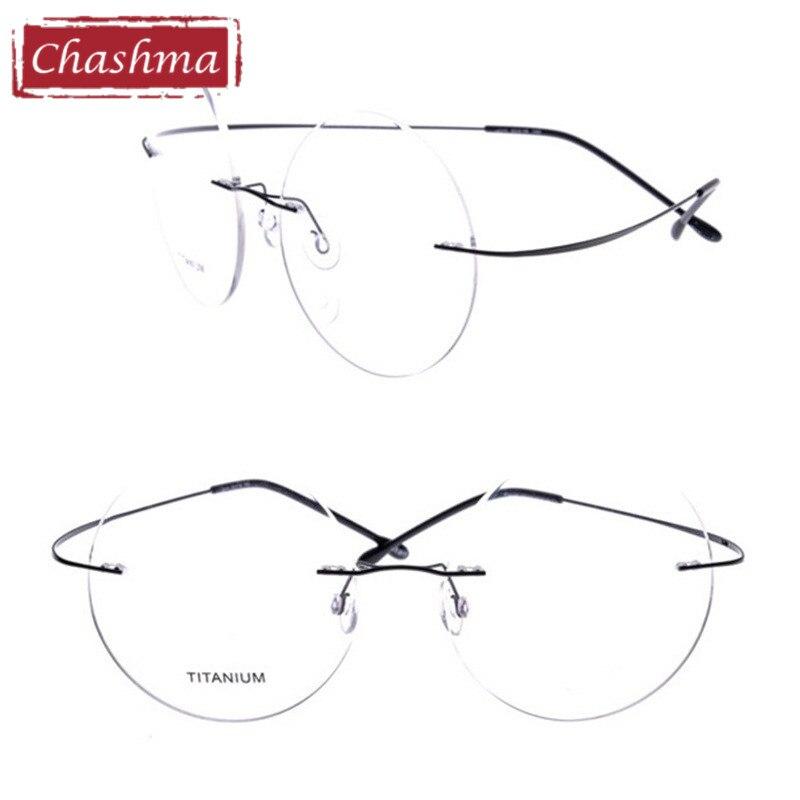 0cfbfd1f25 Товар Chashma New Brand Titanium Rimless Eyeglasses Frames Ultra ...