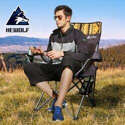 Hewolf Outdoor wygodne krzesło wędkarskie składane ultralekkie przenośne krzesło kempingowe Camping Travel Beach fotel krzesło wędkarskie