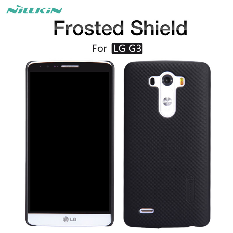 For LG G3 case NILLKIN Frosted Shield matte hard back cover case For LG G3 D855 D850 D851 D852 LS990 vs985 5.5 inch phone cases