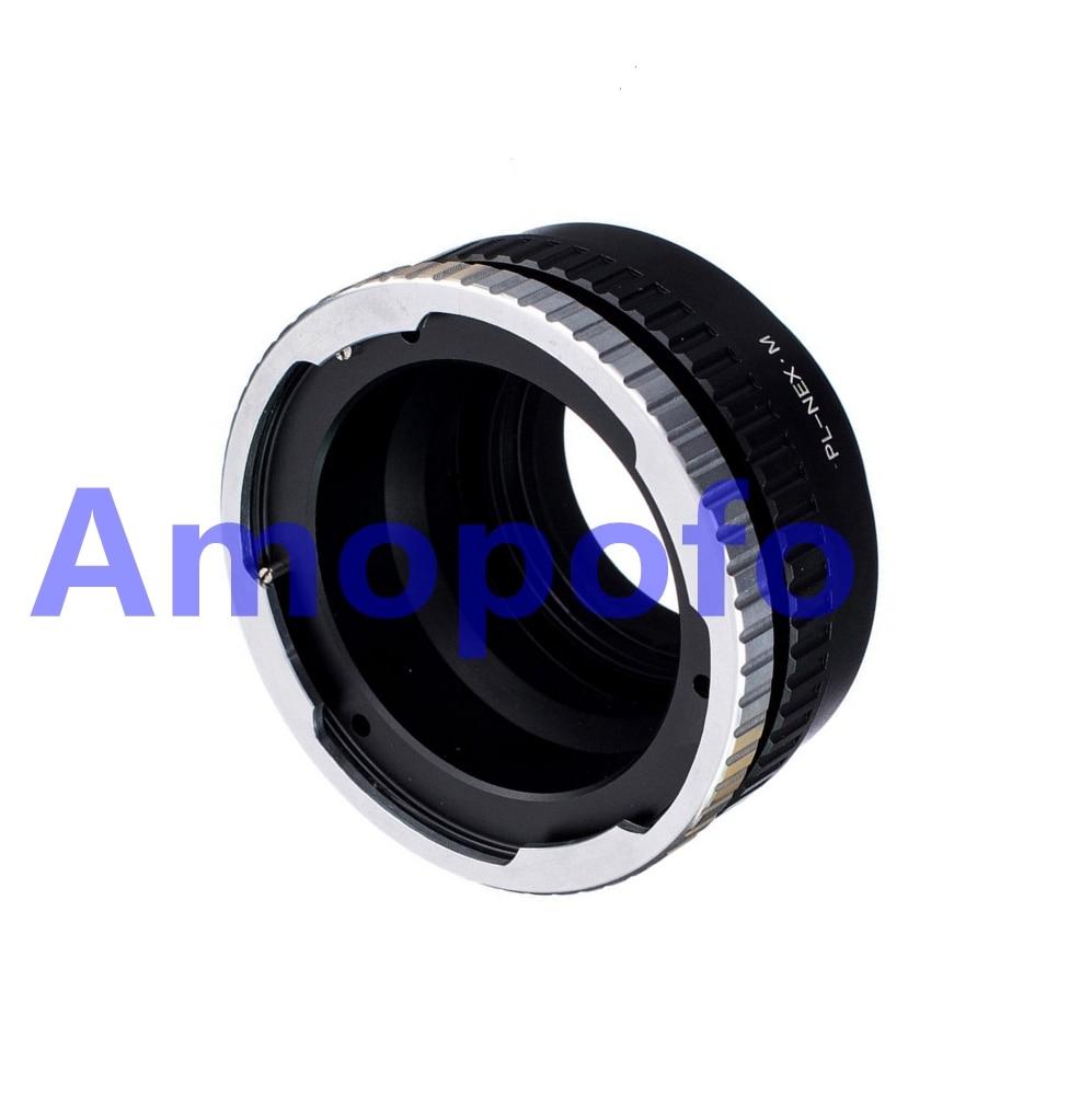 Sony Ampofo PL-NEX / M адаптер Arriflex PL линзасы NEX - Камера және фотосурет - фото 3