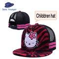 Hello Kitty Sombrero Gorras de Béisbol Del Snapback Del Sombrero Linda Chica de Dibujos Animados Snapback Caps Un Tamaño Cupo la mayoría Del Envío libre