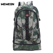 Large Waterproof Camo Military Tactical Outdoor Mountaineer Hiking Camping Hunting Backpack Outdoor Sports Bag
