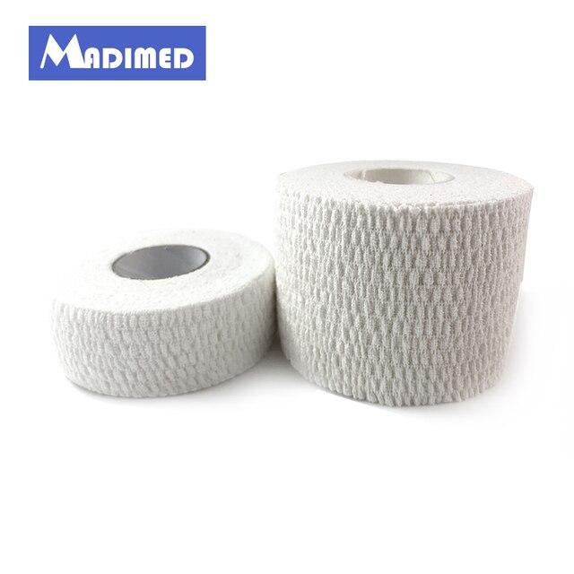 MADIMED 4 Rolls Lot 2.5 cm x 6.9 m Fita de Algodão Bandagem Adesiva Elástica 61933da57cd63