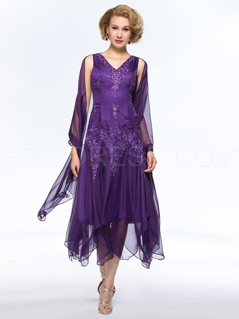 De longitud de té gasa lf2739 madre de encaje de novia vestidos trajes pantalón novio madre de las novias vestidos para bodas 2015 vestido de madrina