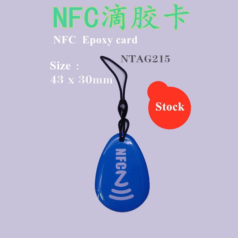 Waterproof NTAG215 Epoxy NFC Tags For Amiibo Tagmo Samsung Galaxy Sony Xperia Nokia Nexus7 LG HTC  NFC Mobile Phone Device