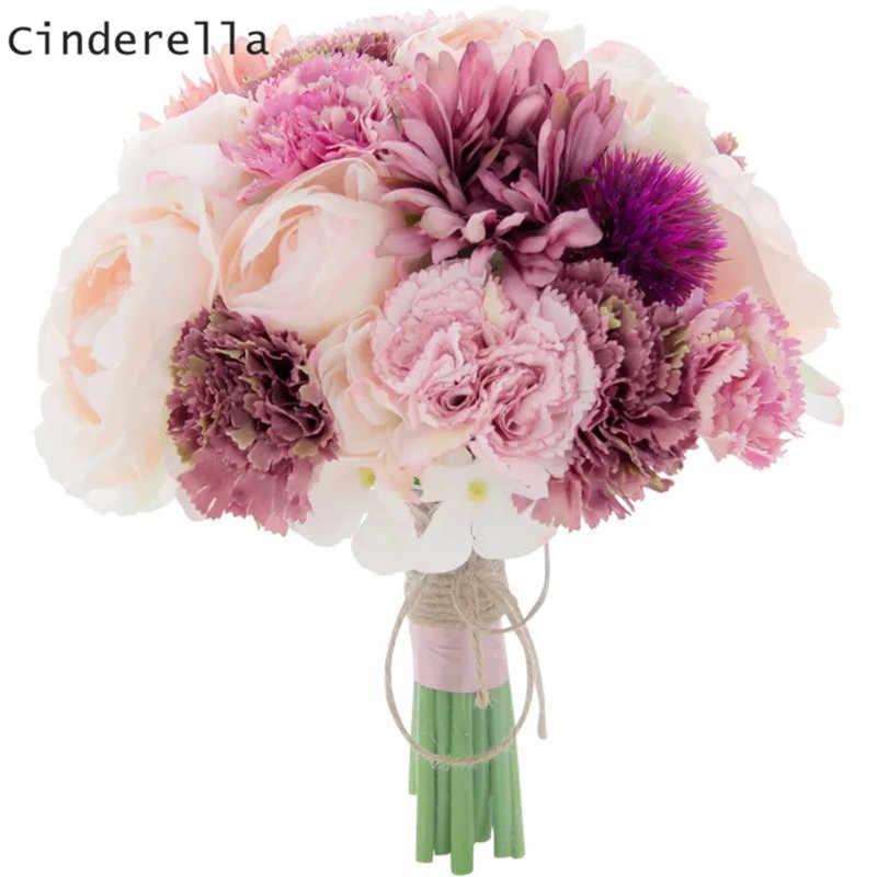 Cinderella Elegant Wedding Bouquets Bridal Bridesmaid Flowers