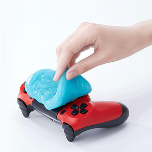 Image 3 - Youpin Clean n Fresh Sillicone Clean Glue Magic Washing Mud Tool Dust  Computer Keyboard Car Cleaning Rubber Antibacterial Gel