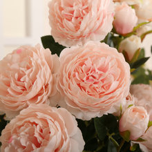 Klonca Luxury Beautiful Silk Flower 70cm 1piece Artificial Fake Peony  Wedding Hotel Home Decoration