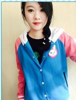 D Va OW Hoodies Cosplay DVA Costume Jacket Sweatshirts Autumn Cotton Clothes Winter For Women Coat