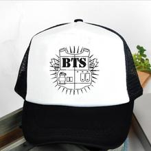 2018 Special Offer Rushed Bangtan Cadete Cap Hats Bts Logo Baseball Hat Version A Bulletproof Style
