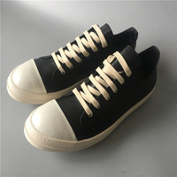 Real Picture genuine Leather quality lace up flat trainer casual leather shoes breathable main line 19ss high street shoes